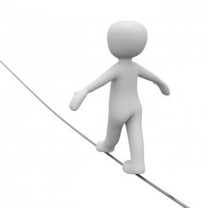alignment balance tightrope strength yoga sidayoga